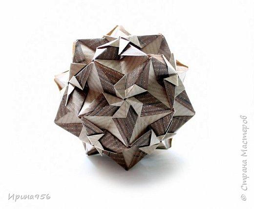 Sonnette МК http://stranamasterov.ru/node/513552 30 модулей 6,3 х 8,9 см. Размер - около 9 см.  фото 18