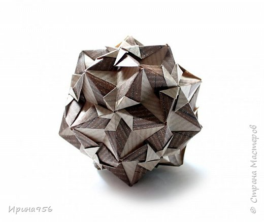 Sonnette МК http://stranamasterov.ru/node/513552 30 модулей 6,3 х 8,9 см. Размер - около 9 см.  фото 19