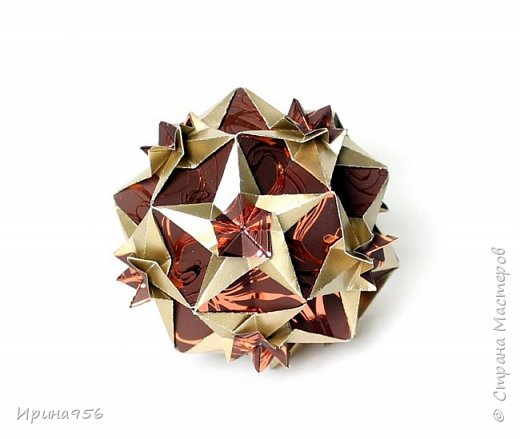 Sonnette МК http://stranamasterov.ru/node/513552 30 модулей 6,3 х 8,9 см. Размер - около 9 см.  фото 22