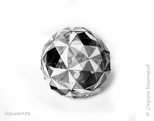 Sonnette МК http://stranamasterov.ru/node/513552 30 модулей 6,3 х 8,9 см. Размер - около 9 см.  фото 10
