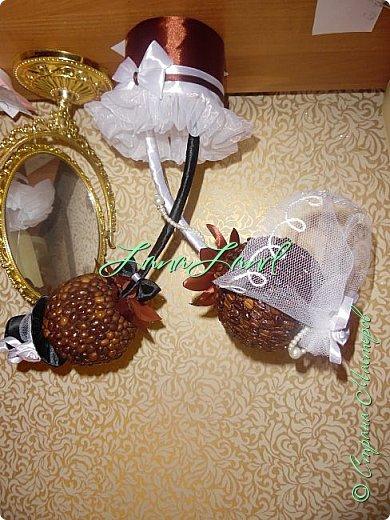 кофейный топиарий на годовщину свадьбы фото 1