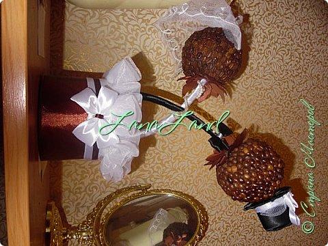 кофейный топиарий на годовщину свадьбы фото 3