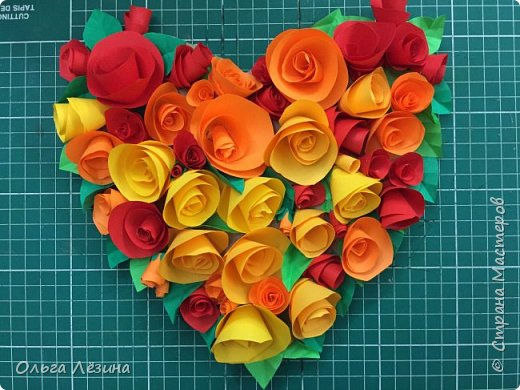 Цветочное сердечко  фото 1