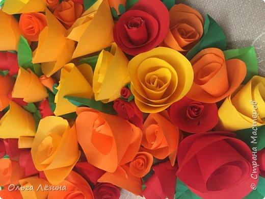 Цветочное сердечко  фото 2