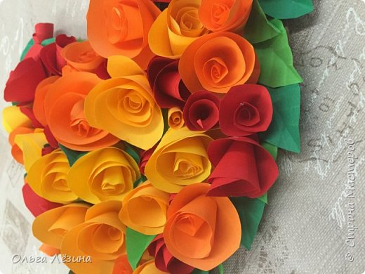 Цветочное сердечко  фото 3