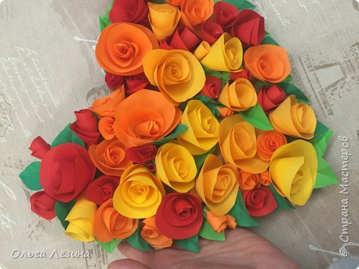 Цветочное сердечко  фото 4
