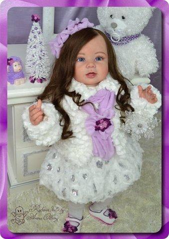 Здравствуйте девочки-мастерицы! Хочу вас познакомить с моей новой работой- куколкой Паулиной. Девочка создана в подарок для салона-красоты. фото 4