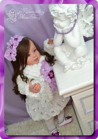 Здравствуйте девочки-мастерицы! Хочу вас познакомить с моей новой работой- куколкой Паулиной. Девочка создана в подарок для салона-красоты. фото 6