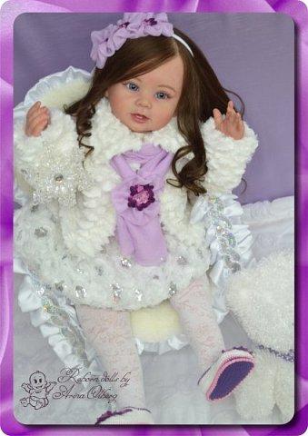 Здравствуйте девочки-мастерицы! Хочу вас познакомить с моей новой работой- куколкой Паулиной. Девочка создана в подарок для салона-красоты. фото 9