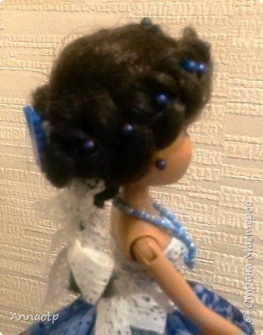 """Здравствуйте мастера! Вот еще одна наша бывшая безногая девушка. Теперь вполне прекрасная дама. Так вдохновилась делать кукол шкатулок, что пока не закончились наши поломанные куклы не остановилась. Теперь либо покупать, либо ждать новых поломок, либо """"попрошайничать"""" у знакомых, может у кого-то так же валяются без дела))))) Вообщем смотрите, что в итоге вышло. фото 6"""