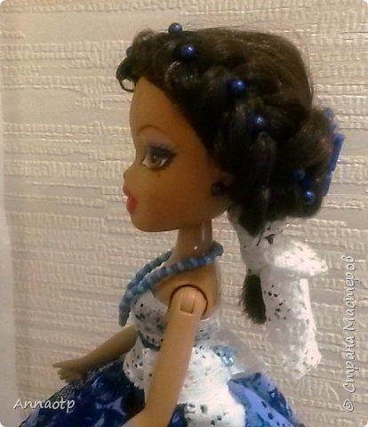 """Здравствуйте мастера! Вот еще одна наша бывшая безногая девушка. Теперь вполне прекрасная дама. Так вдохновилась делать кукол шкатулок, что пока не закончились наши поломанные куклы не остановилась. Теперь либо покупать, либо ждать новых поломок, либо """"попрошайничать"""" у знакомых, может у кого-то так же валяются без дела))))) Вообщем смотрите, что в итоге вышло. фото 8"""