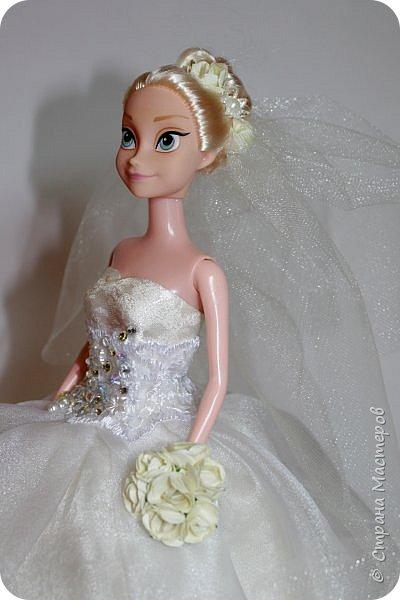 Очень давно заглядывалась на куколок-невест)) Теперь и у меня она есть!!)))  фото 2