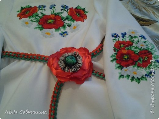 Вишиваночка для Анни) і шапочка для Настусі) фото 3