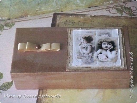 """Подарочная коробочка с розочками """"Сюрприз"""" фото 1"""