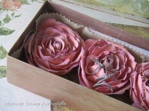 """Подарочная коробочка с розочками """"Сюрприз"""" фото 4"""