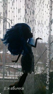 Привет всем!! Как только пришла из школы, Робекка затребовала новый нарядик)) Пришлось шить) Кружево вязаное) С бабушкой делали)) Не буду вас мучать, смотрим))) фото 5