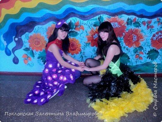 Платье из одноразовых пакетов  фото 4
