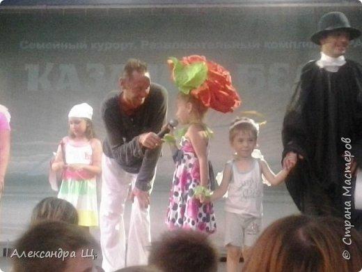 """Лето 2015 года я провела на базе отдыха в Краснодарском крае. На базе работали замечательные аниматоры, каждый день был особенным... очень много воспоминаний...,но ближе к делу. Одним из  дней, был """"День святого Валентина"""". На праздник надо было смастерить костюм...  фото 3"""