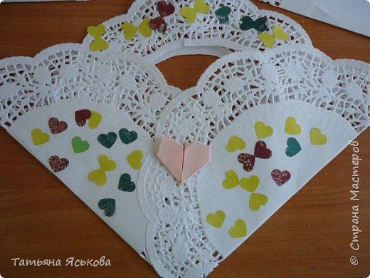 Всем привет Посмотрите какие чудесные сумочки валентинки сделали мои детки. фото 1