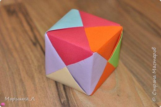 Разноцветный кубик. фото 3