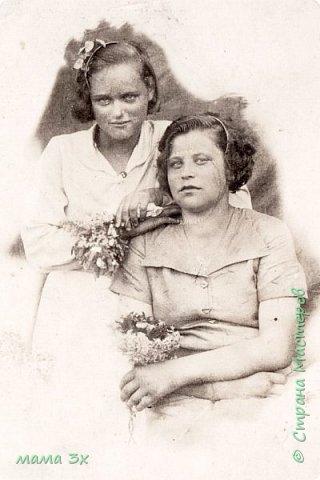 так я восстанавливала семейные фотографии жаль многое потеряно безвозвратно...... фото 12