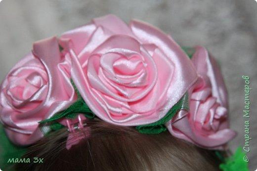 ободок с розами фото 1