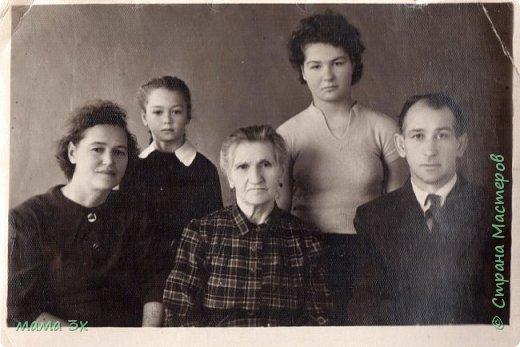 так я восстанавливала семейные фотографии жаль многое потеряно безвозвратно...... фото 9