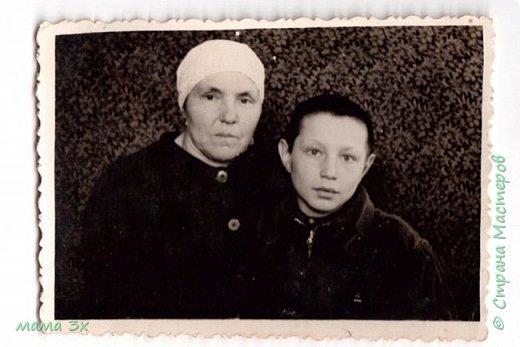 так я восстанавливала семейные фотографии жаль многое потеряно безвозвратно...... фото 6