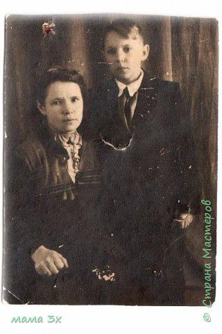 так я восстанавливала семейные фотографии жаль многое потеряно безвозвратно...... фото 3
