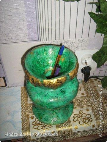 Малахитовая ваза фото 4