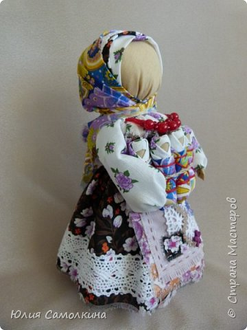 Кукла-оберег Московка (Плодородие, Семья) фото 4