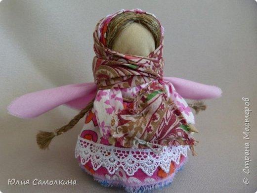 """Кукла в народном стиле """"Ангел с сердцем"""" фото 1"""
