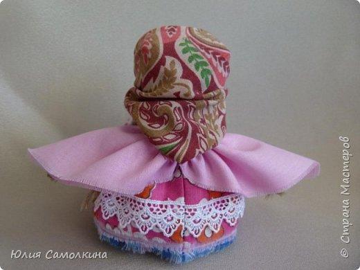 """Кукла в народном стиле """"Ангел с сердцем"""" фото 3"""