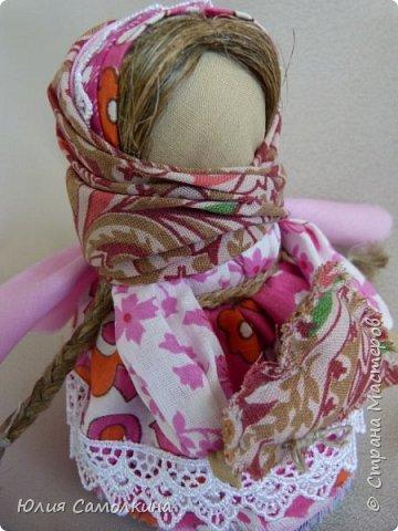 """Кукла в народном стиле """"Ангел с сердцем"""" фото 4"""