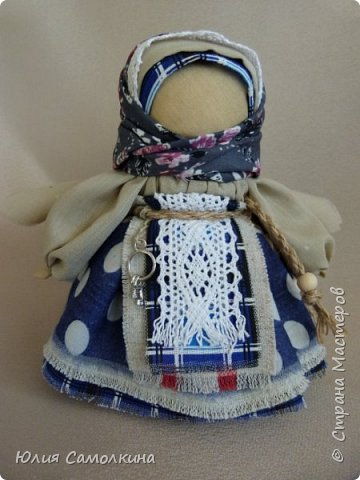 "Кукла в народном стиле ""Ангел ключи счастья"" фото 1"