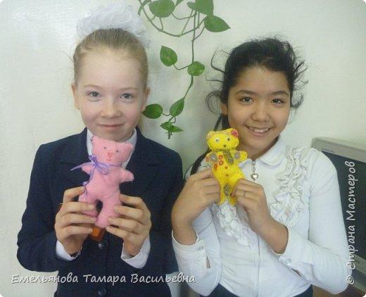 С 5 классами стали шить игрушки из фетра. фото 24