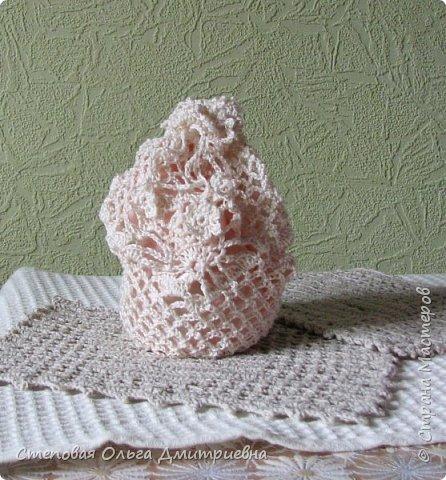 Текстильная сумочка в стиле шебби-шик.   Пряжа Ирис 100% хлопок. фото 1
