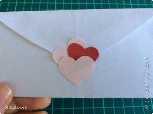 Здравствуйте жители СМ! Предлагаю вам способ выразить свои чувства любимому человеку. Вот в такой конверт из сердца вы можете спрятать чудного совенка из джинсовой ткани. фото 2