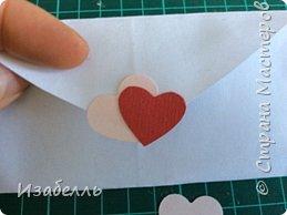 Здравствуйте жители СМ! Предлагаю вам способ выразить свои чувства любимому человеку. Вот в такой конверт из сердца вы можете спрятать чудного совенка из джинсовой ткани. фото 11