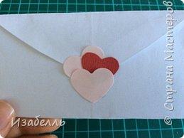 Здравствуйте жители СМ! Предлагаю вам способ выразить свои чувства любимому человеку. Вот в такой конверт из сердца вы можете спрятать чудного совенка из джинсовой ткани. фото 13