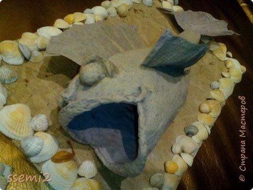 Попробовала сделать рыбу,  которых уже так много на сайте,  Теперь и моя добавилась.  Женихов и невест тоже хоть пруд пруди....   Так медленно грузятся картинки,  что забирают время на описание...  фото 4