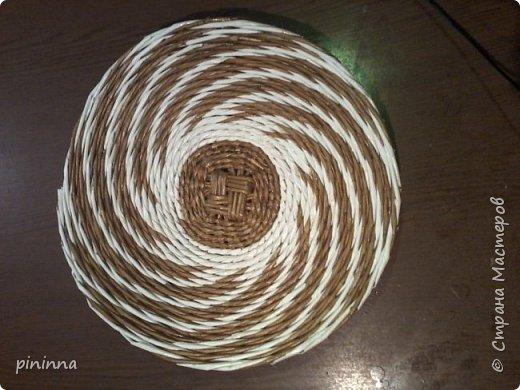 Плетение тремя трубочками. как оказалось не сложно, но немного больше времени занимает... Но результат того стоит... фото 1