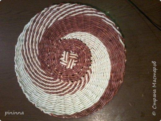 Плетение тремя трубочками. как оказалось не сложно, но немного больше времени занимает... Но результат того стоит... фото 2