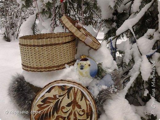 Доброе время суток, дорогая страна!Давно я ничего не показывала, если честно плетения было мало и все по мелочи(конкурсы, ярмарки)все для любимой школы детей:).Но увидев шкатулку у Ольги Карамзиной(БУКМА-в стране)мне очень захотелось повторить. фото 3