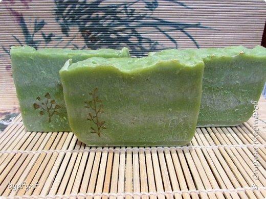 По мотиву Аллепского мыла.ХС Мыло с нуля на оливковом масле и масле благородного лавра,с добавлением кокосового масла . фото 1