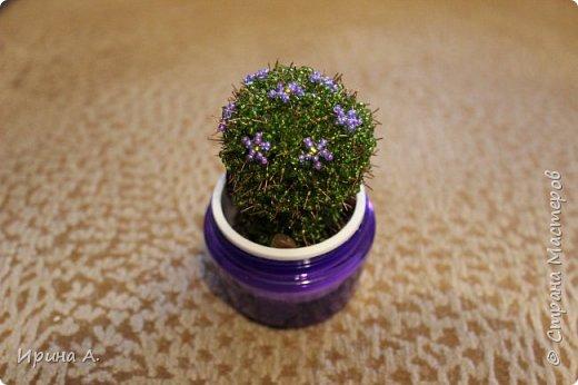 Цветы из бисера фото 12