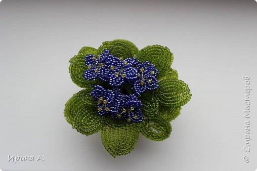 Цветы из бисера фото 5