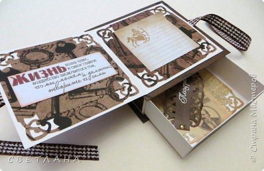 Сегодня покажу коробочки,  чтобы красиво подарить   деньги...  Коробочки для  мужчин, универсальные.Вот  так  они  выглядят  в  закрытом  виде. фото 9