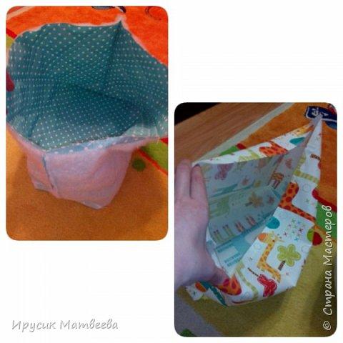 Корзина может быть использована для детских игрушек..детских вещей...а может и не только детских..))и не только вещей)) фото 4