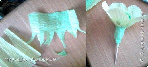 Вот такие ромашки получились из конфет - желеек фото 4